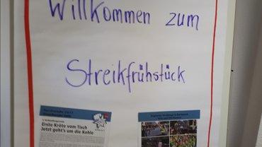 Streik Kaufland Gladbeck 21.07.2017