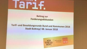 Mitgliederversammlung Stadtverwaltung Bottrop 08.01.2018