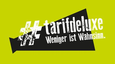 Tarifdeluxe Jugend Tarifkampagne Logo