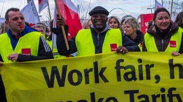 Streik real,- 18.12.15 4