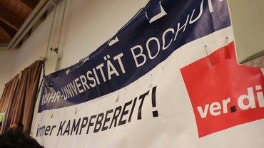 Warnstreik Ruhr-Universität und Hochschule Bochum