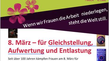 8. März 2019 ver.di Vertrauensleute Knappschaftskrankenhaus Bottrop