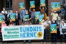 Aktion Bundestag Nazifrei 20.08.2021 in Herne