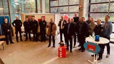 Austausch Fachgruppe Feuerwehr Oktober 2021
