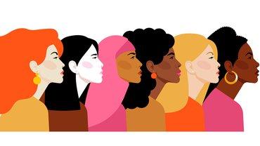 Frauen Diversity Vielfalt Empowerment Illustration